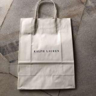 Ralph Lauren paper bag