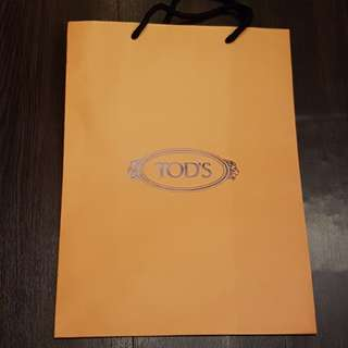 Paper bag Tods