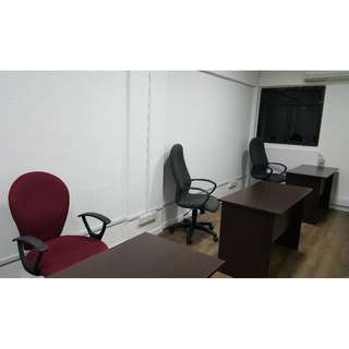 OFFICE ROOM FOR RENT $550 90SQF MAX 2 PERSON & TABLE SPACE FOR RENT $370