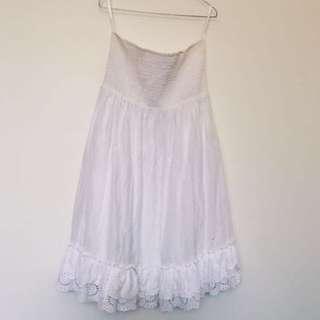 Forever New - white sleeveless dress