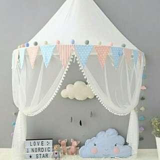 Pastel kids tent/mini canopy 💟TO RENT 💟