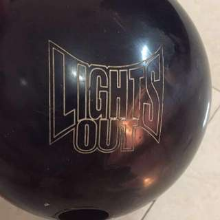 STORM LIGHTS OUT BOWLING BALL