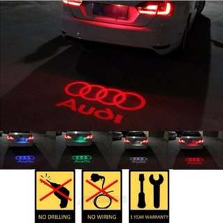 PROMO..... 1pcs CANBUS Car LED License Plate Light 12V LED Logo Projection Laser Number Plate Lamp for Audi A3 A4 A6 A7 S5 S6 S7 Q5 Q3 TTS