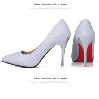 PU heels