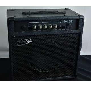 Kingtech BA-25 25瓦 初階 電貝斯音箱*現金收購 樂器買賣 二手樂器吉他 鼓 貝斯 電子琴 音箱 吉他收購