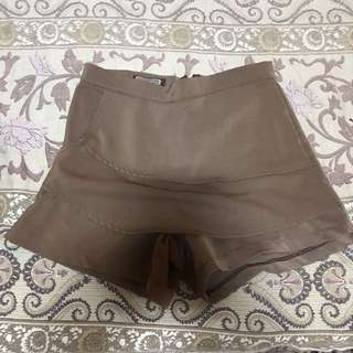 skort brown
