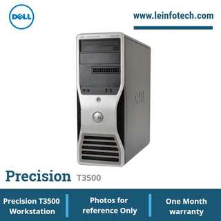 Dell Precision T3500 six core X5650#2.67Ghz 8GB 1TB HDD Video card 1GB Win 7 Pro