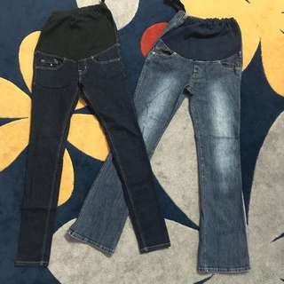 Maternity skinny & boocut jeans PROMO‼️‼️