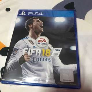 Sealed Brand New In Box FIFA18 PS4 Edition