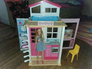 Barbie 2 Story House Doll Playset