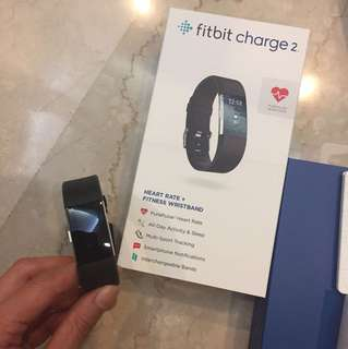 Fitbit Charge 2 with limited edition strap