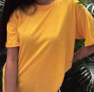 Yellow Gold Tshirt UNISEX