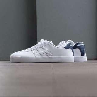 Adidas neo vl court white navy termurah