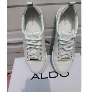 White Leather Shoes for Women  (Aldo, Original)