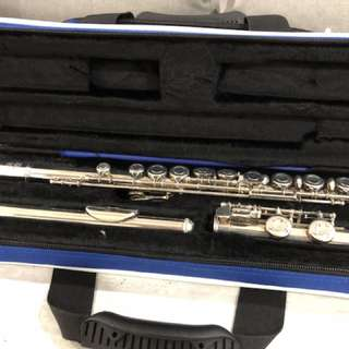 Yamaha YFL215 Flute - Silver-Plated, Made in Japan, Excellent Condition