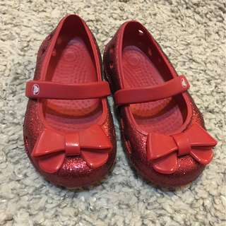 Crocs Girls Size 6 infant
