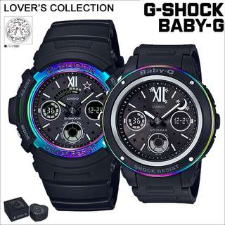 CASIO G-SHOCK X BABY-G G PRESENTS LOVER'S COLLECTION 2017 LOV-17B 情侶裝 GSHOCK X BABYG LOV17B