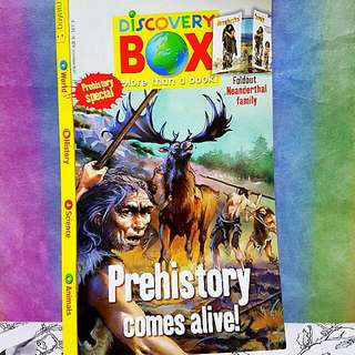 Story Box And Discovery Box Storybooks