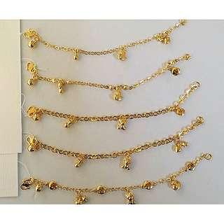 916 gold baby/child bracelet