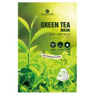 [BNIP] Shangpree Green Tea Facial Masks