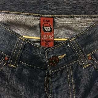 BSX牛仔褲(大白鯊)