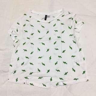 H&M cactus shirt