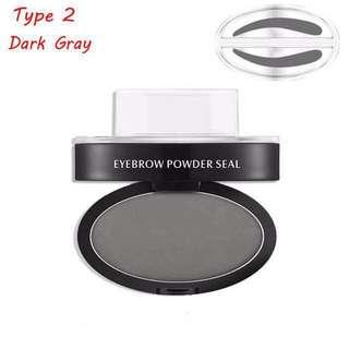 Eyebrow powder stamp