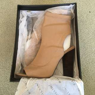 Billini nude high heel shoes boots