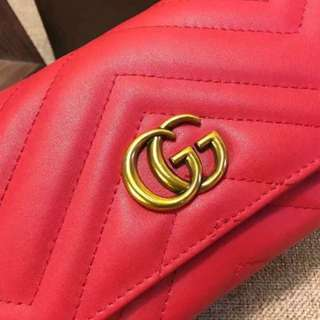 Gucci Marmont long wallet