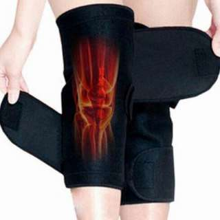 1 Pair Knee Pad Magnetic Therapy Knee Support Tourmaline Self-Heating Belt Knee Massager