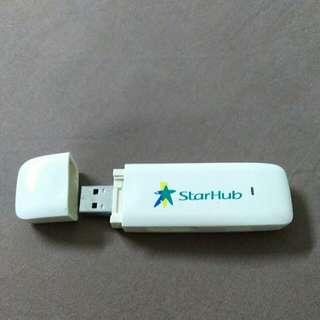 Starhub HSDPA USB modem MF628 (ZTE brand)