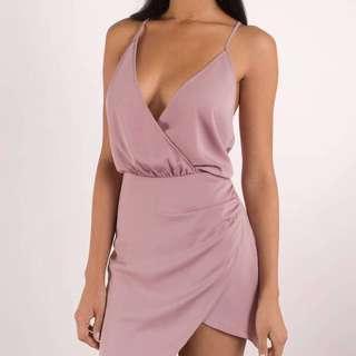 BNWT Rose Wrap Dress