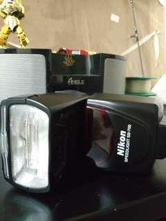 Dry box nikon sb700 hoya polarized filter  lowepro bag