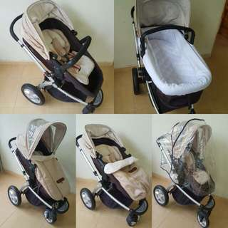 Used mothercare stroller. Good condition.