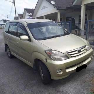 Toyota Avanza 1.3 (A) For Sale!