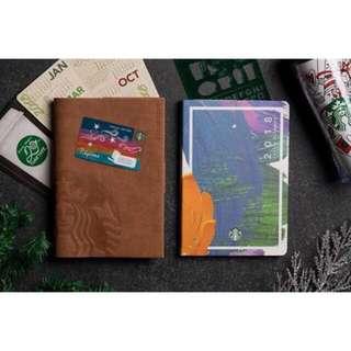 Starbucks Planner w/ Vinta Card! (SEALED)