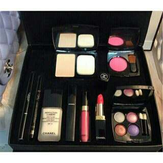 CHANEL MAKE UP SET (9PCS)