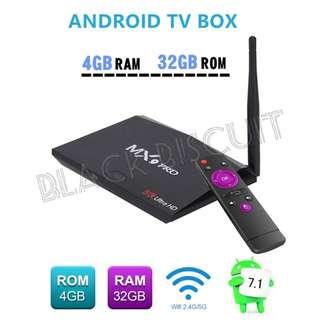 Android Box MX9 PRO 4GB RAM 32GB ROM RK3328