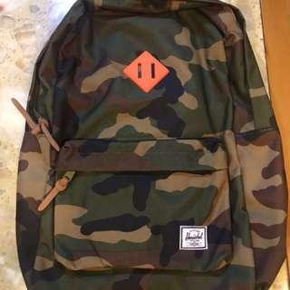 全新The Herschel迷彩書包背包backpack