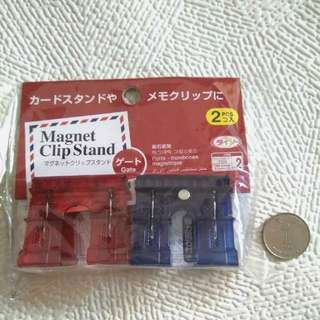 Magnet Clip Stands (A Set of 2 )