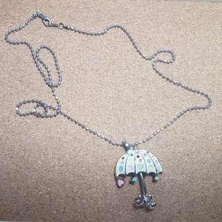 Free Delivery: Umbrella Fashion Necklace