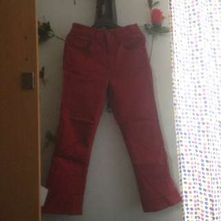Levi's Stretch Jeans Red