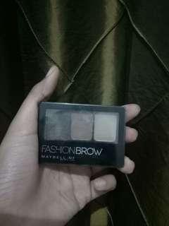 Fashion eyebrow maybellin
