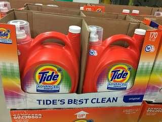 【美國Tide】全新汰漬2X濃縮洗衣精170oz(美國熱銷第一),要買要快~
