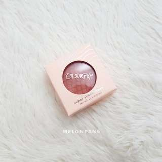 INSTOCK Colourpop Super Shock Cheek Quarters