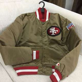 SF 49ers Letterman Jacket