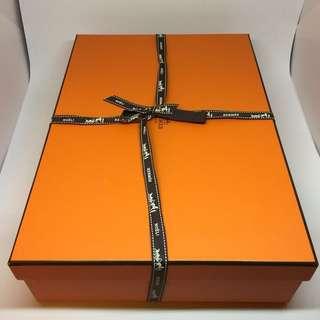 [NEW] Hermes Box - 33.5cm x 23.5cm x 8cm (Orange)