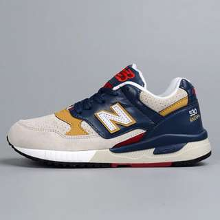NB018 New Balance 530 Kid's Wolf Grey / Navy Blue