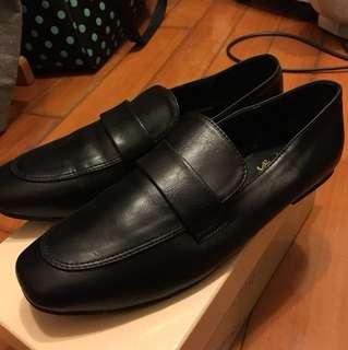 黑色樂福鞋