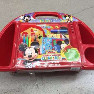 Mickey Mouse Sit and Create Activity Desk